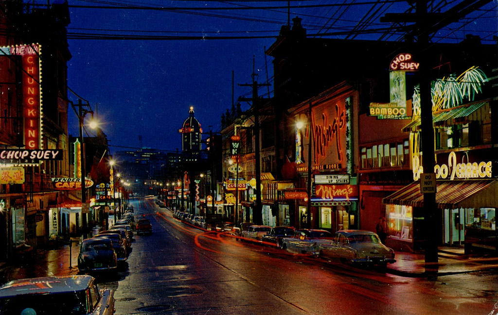 chinatown bc from the 1960's